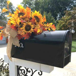 autumn mailbox