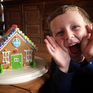 gingerbread building