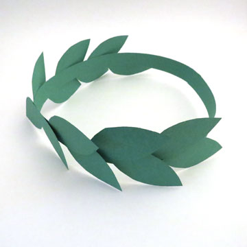 laurel leaf crown template laurel wreaths three ways small talk mama