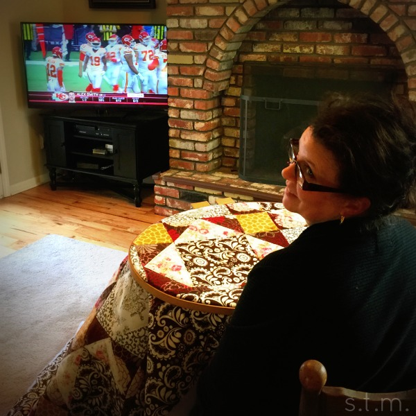 quilting and football