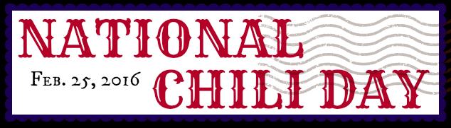 national chili day