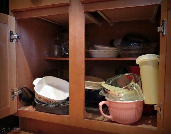 cabinet cleanout