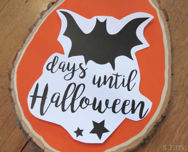Track the Days Until Trick-or-Treat