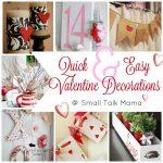 easy Valentine decorations