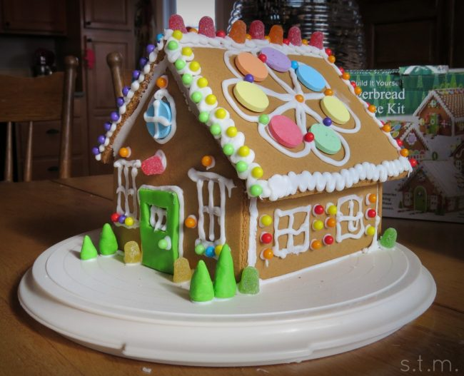 gingerbread building