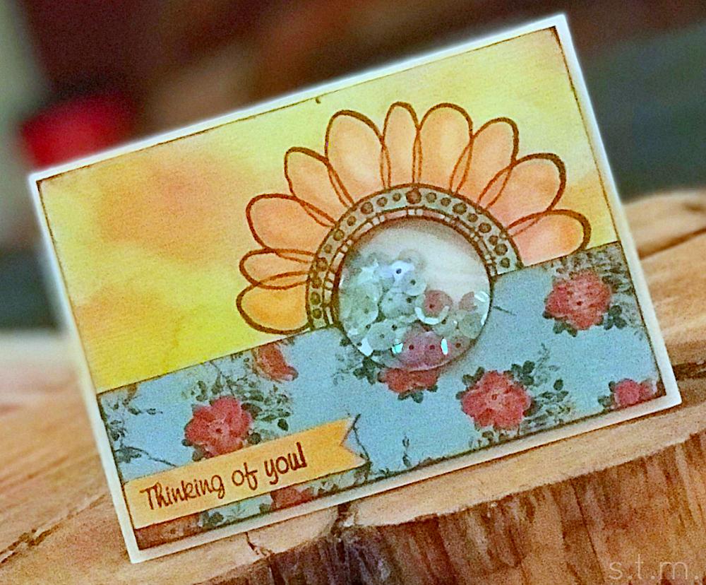 sunflower shaker