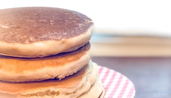 fizzy water pancakes