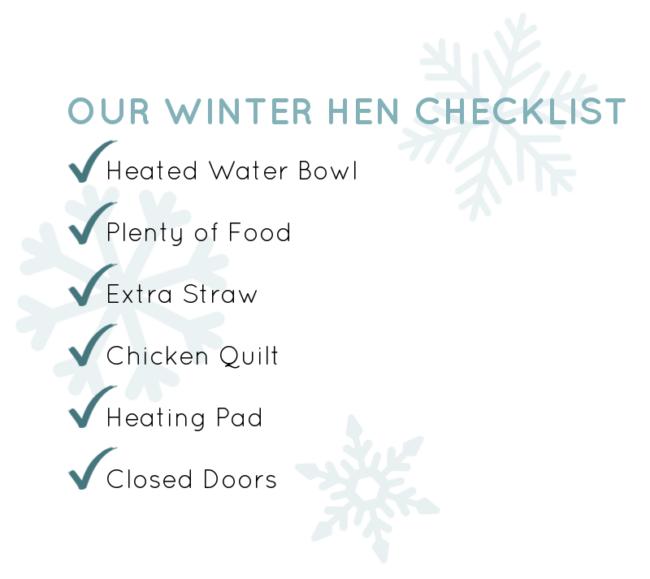 Winter Hens